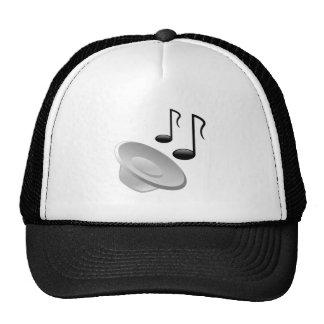 Musik-Lautsprecher mit Anmerkungen Baseballmützen