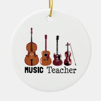 Musik-Lehrer Keramik Ornament