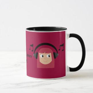 Musik-Lehrer-Rock! Tasse