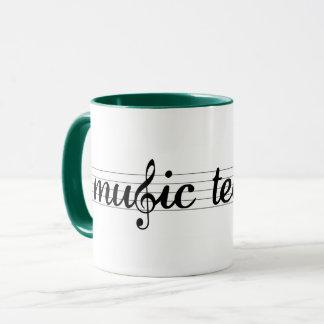 Musik-Lehrer-Tasse Tasse