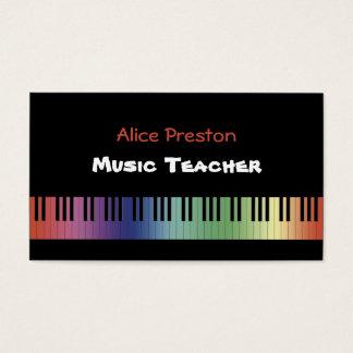 Musik-Lehrer - Visitenkarte