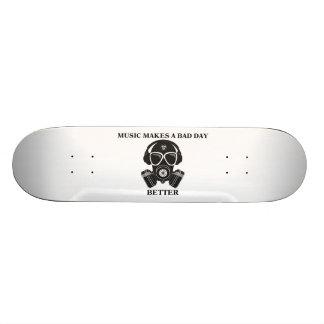 Musik macht meinen Tag 19,1 Cm Old School Skateboard Deck