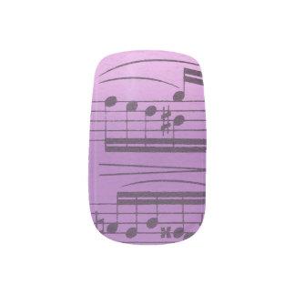 Musik-Maniküre Minx Nagelkunst
