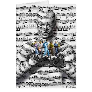 Musik-Mann Karte