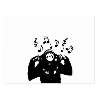 Musik monkeymonkey postkarten