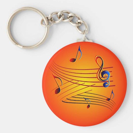 Musik music schlüsselanhänger