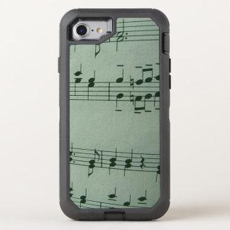 Musik OtterBox Defender iPhone 8/7 Hülle