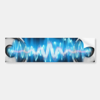 Musik-Powerentwurf Autoaufkleber