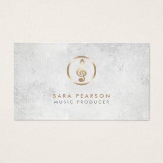 Musik-Produzent-Goldgrammophon-Ikonen-Visitenkarte Visitenkarte