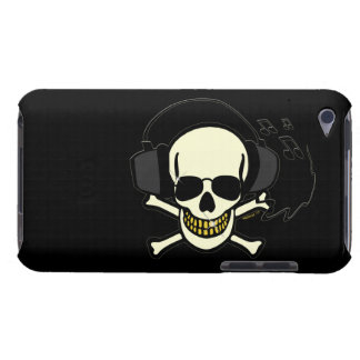 Musik-Schädelipod-Kasten Case-Mate iPod Touch Hülle