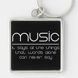 Musik Schlüsselanhänger
