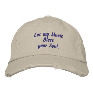 Musik, segnet Ihr Soul, gestickten Hut Bestickte Mützen