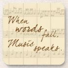 Musik spricht untersetzer
