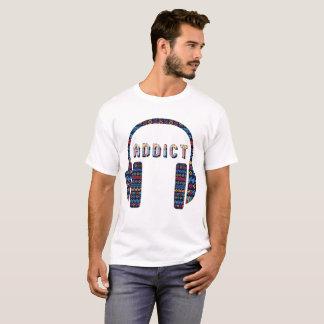 Musik-Süchtiger T-Shirt