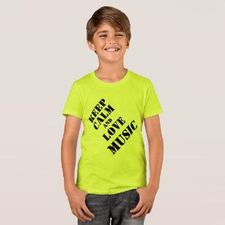 Musik-T-Shirts Kinder T-Shirt