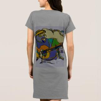 Musik-themenorientierter Kittel/Kleid Kleid