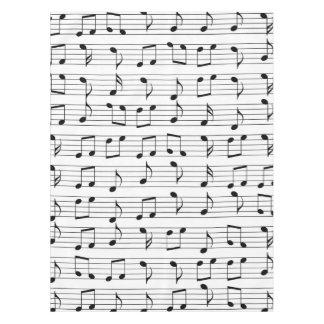 Musik Tischdecke