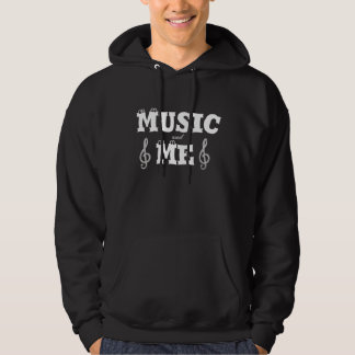 Musik und ich kapuzensweatshirts
