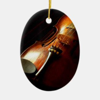 Musik - Violine - die Klassiker Keramik Ornament