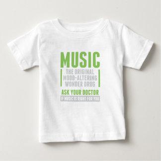 Musik-Wunder-Droge Baby T-shirt