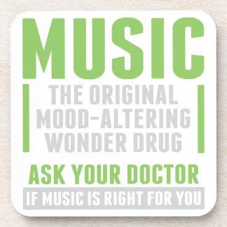 Musik-Wunder-Droge Untersetzer