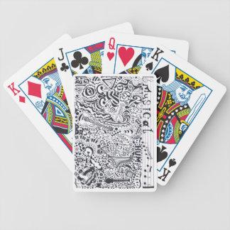 Musikalisch Bicycle Spielkarten