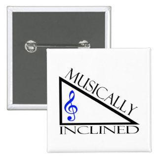 Musikalisch geneigt anstecknadelbuttons
