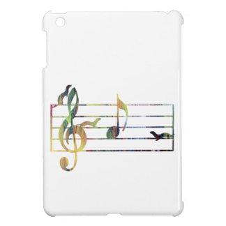 """Musikalische Anmerkung """"A"""" erobert durch Frettchen iPad Mini Hüllen"""