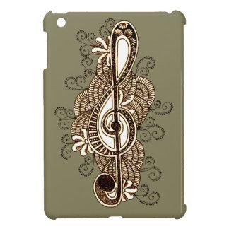 Musikalische Anmerkung iPad Mini Hülle