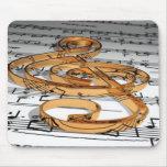 musikalische Anmerkung Mousepads