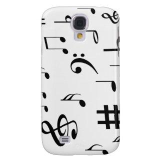 Musikalische Anmerkungen Galaxy S4 Hülle