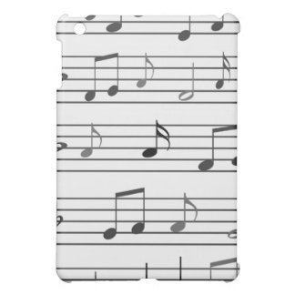Musikalische Anmerkungen iPad Mini Hülle