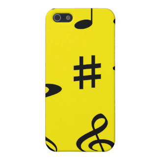 Musikalische Anmerkungen iPhone 5 Hüllen