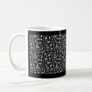Musikalische Anmerkungen Kaffeetasse