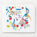 Musikalische Anmerkungen Mousepads