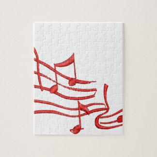musikalische Anmerkungen Puzzle