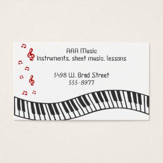 Musikalische Anmerkungen Visitenkarte