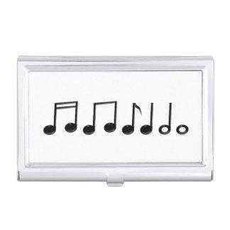 Musikalische Anmerkungen Visitenkarten Dose