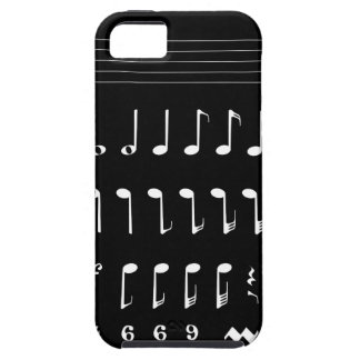 Musikalische Anmerkungs-Negativ Hülle Fürs iPhone 5