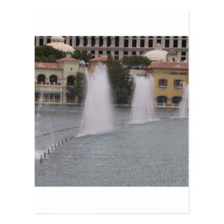MUSIKALISCHE Brunnen neue LAS- VEGASkanal-Gebäude Postkarte