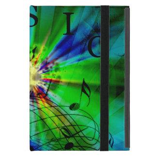 Musikalische Kerbe abstrakt iPad Mini Etuis