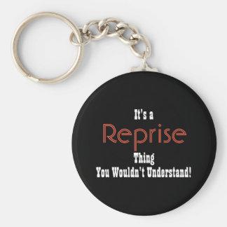 Musikalische Reprise Keychain Schlüsselanhänger