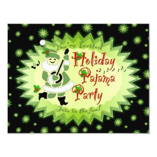 Musikalische Sankt-Elf-Pyjama-Party Einladungen