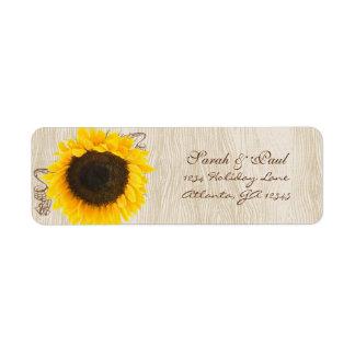 Musikalische Sonnenblume-hölzerner