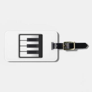 Musikalische Tastatur - Emoji Gepäckanhänger