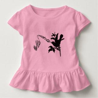 Musikalische Vogel-Änderungs-Farben Kleinkind T-shirt