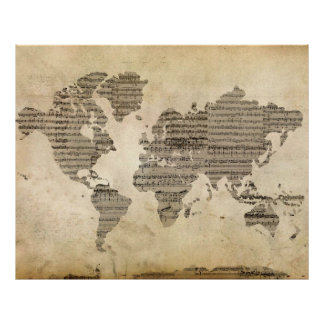 Musikalische Welt Poster