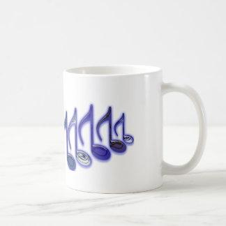 """Musikalischer Buchstabe """"M """" Kaffeetasse"""