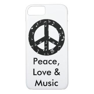 Musikalischer Friedenszeichen kaum dort iPhone 7 iPhone 8/7 Hülle