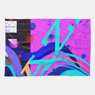 Musikalischer Jazz-Art-Hintergrund Küchentuch